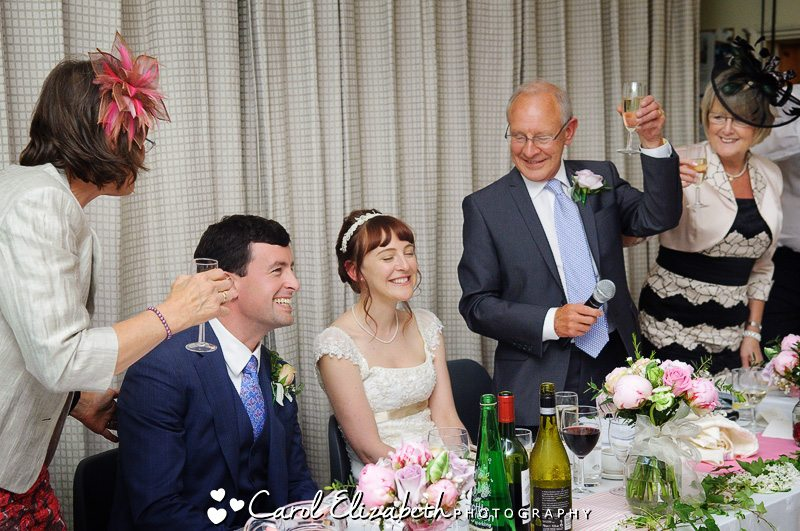 Informal wedding photography in Gloucestershire