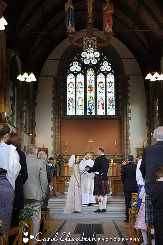Oxford church wedding photographer