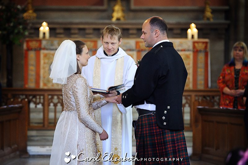 Church wedding photography in Oxford