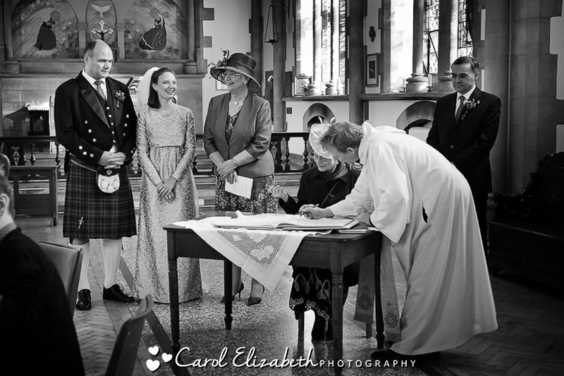 Carol Elizabeth Photography - professional Oxford wedding photographer