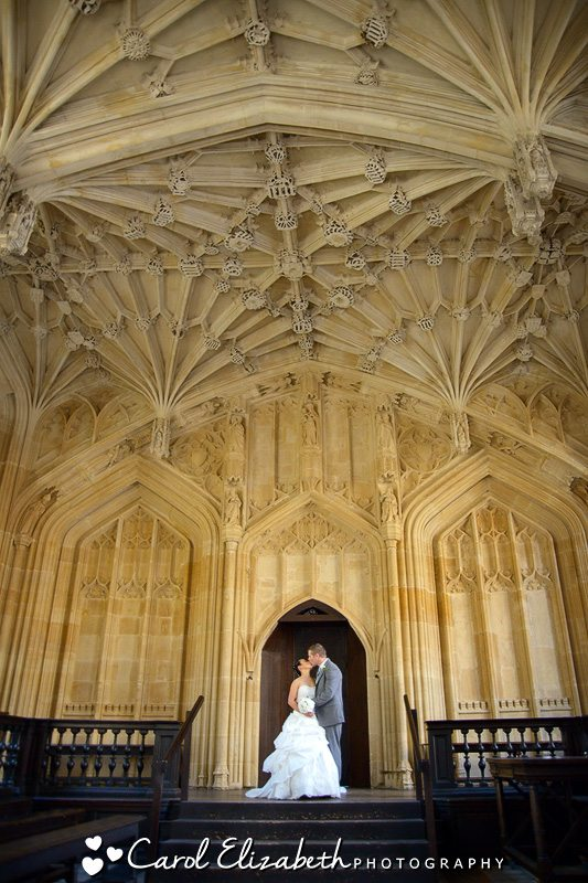 Oxford wedding photography at Bodleian Library