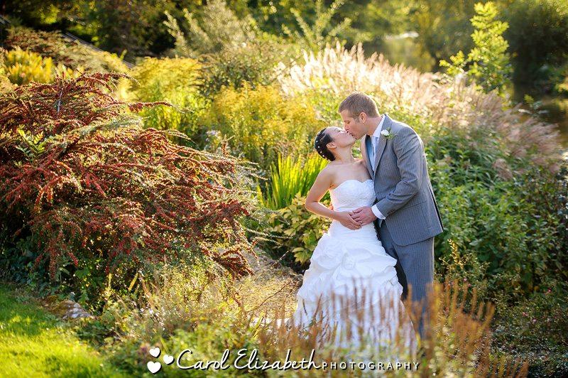 Oxford University wedding at St Hildas College
