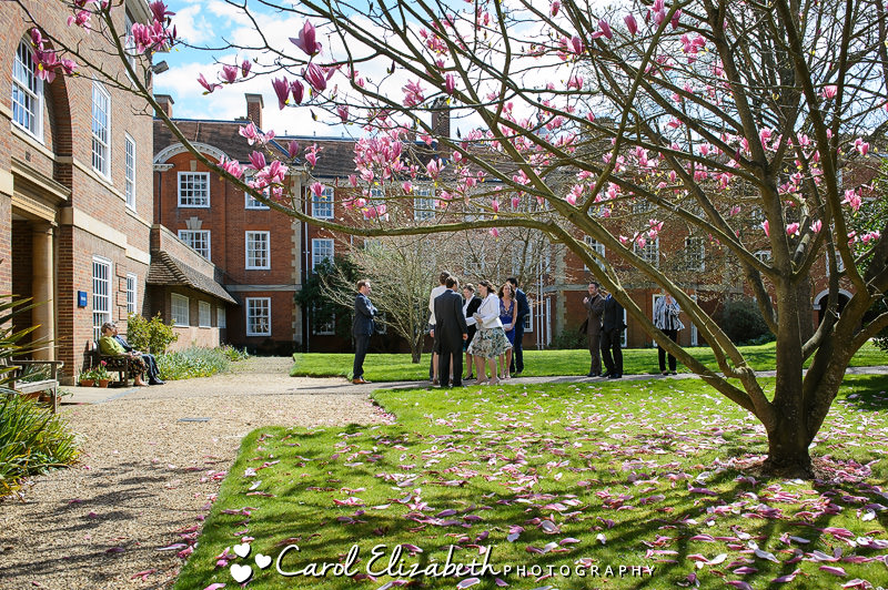 Lady Margaret Hall weddings