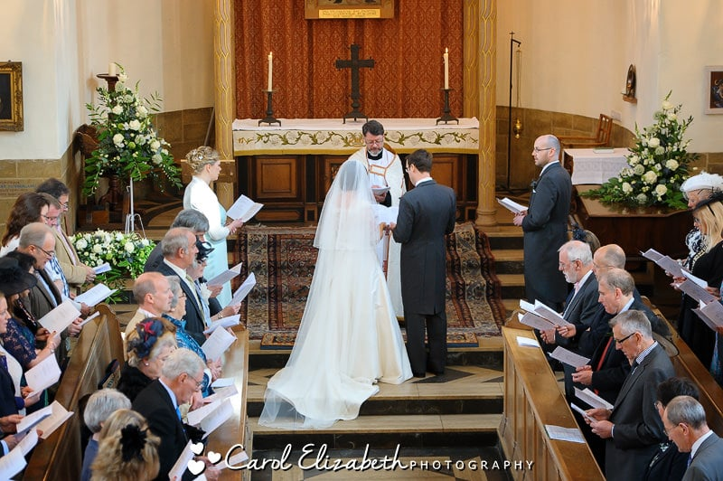 Wedding ceremony at Oxford College