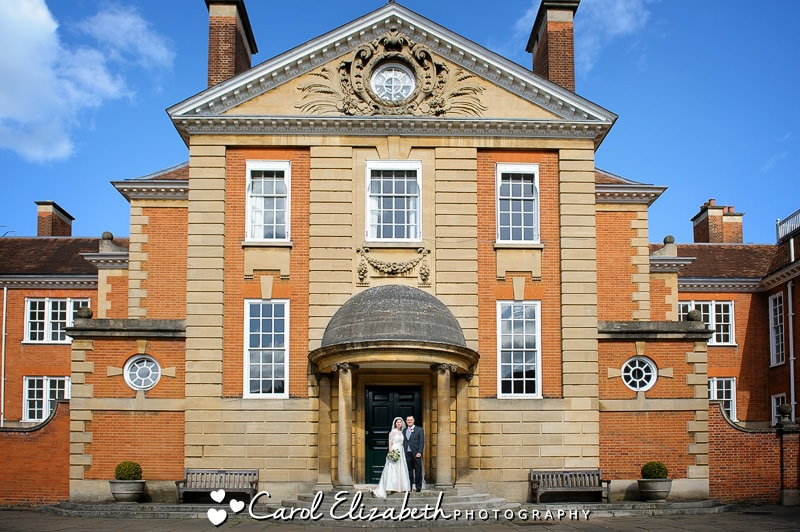 Formal wedding photographer in Oxford