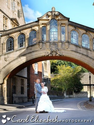 Classic wedding photographer in Oxford at Bridge of Sighs