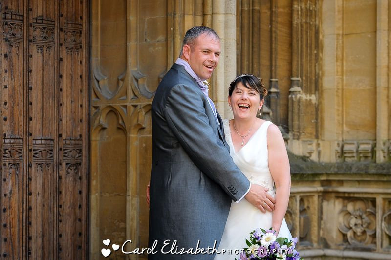 Informal wedding photography in Oxford