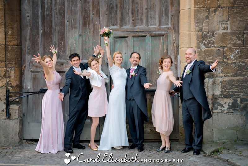 Fun and natural Oxford wedding photos
