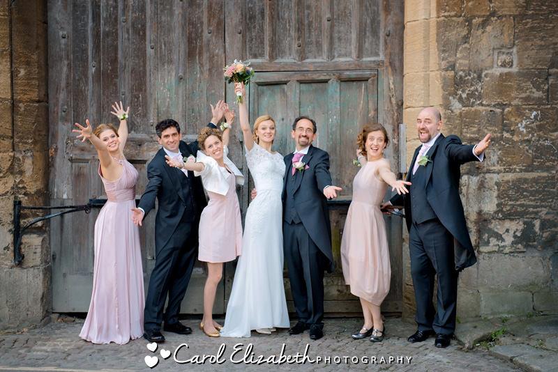 Fun and natural Oxford wedding photos