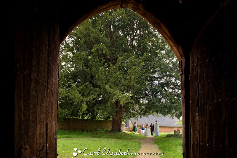 Church wedding in Oxfordshire