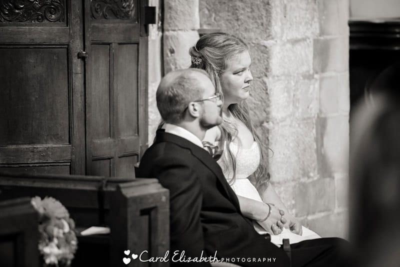 Wedding church service