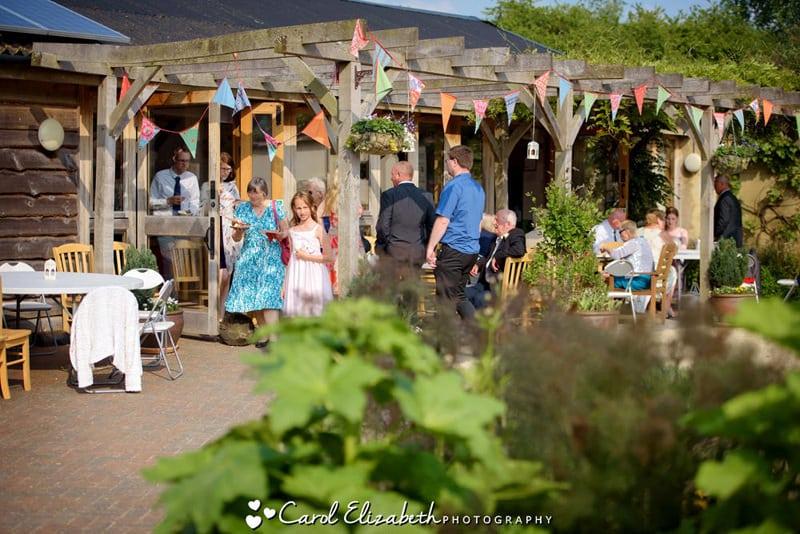 Weddings at Earth Trust Fison Barn