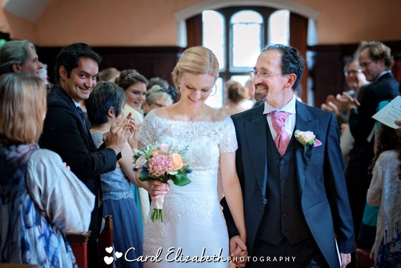 Oxfordshire reportage wedding photographer