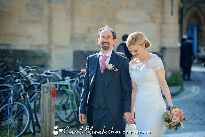 Natural wedding photography in Oxfordshire