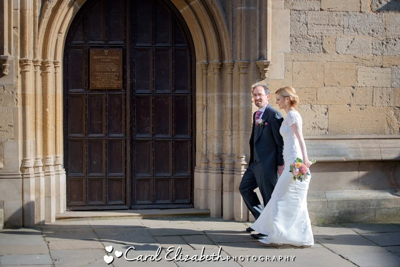 Wedding Photography at Oxford College