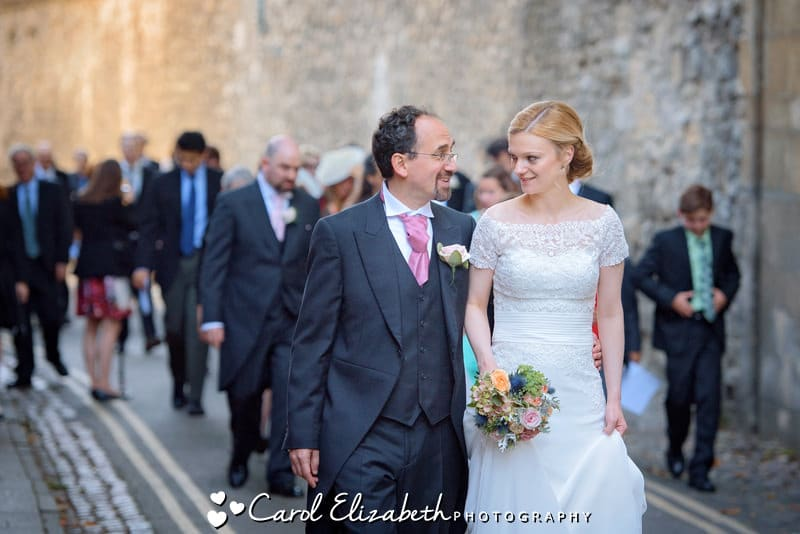 Oxford informal wedding photography