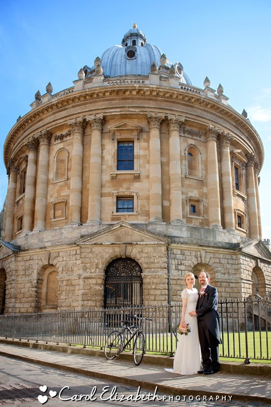 Oxford Camera wedding couple