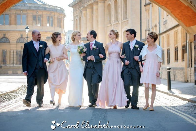 Fun wedding photographer in Oxfordshire