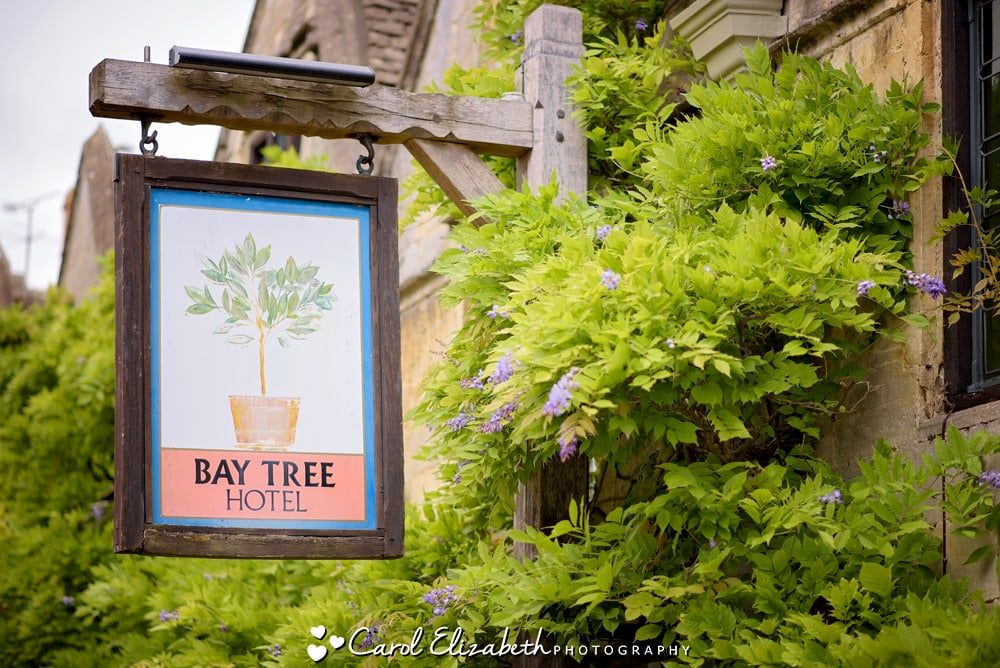 Bay Tree Burford outdoor sign