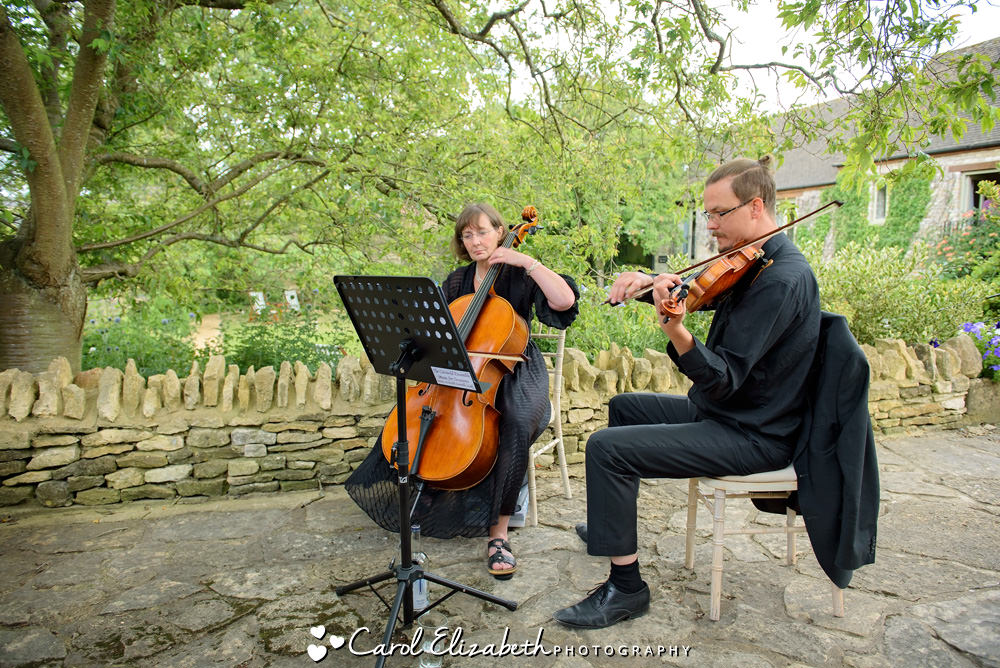 Cotswold Ensemble at Wedding