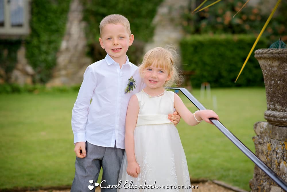 Bridesmaid and pageboy