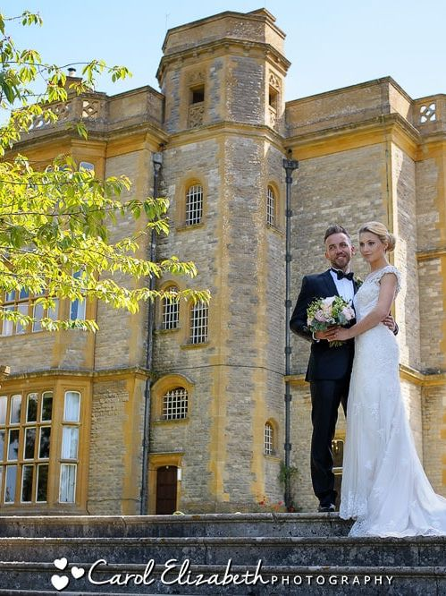 Professional wedding photographer at Eynsham Hall
