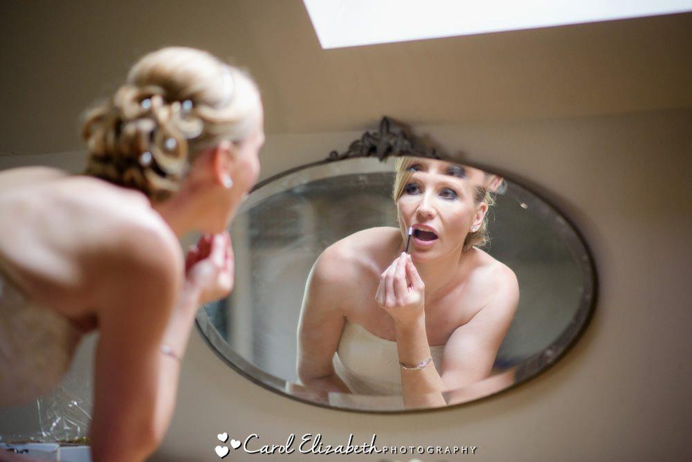 Bride at Hyde Barn wedding