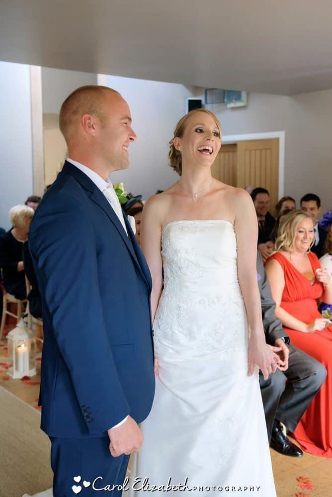 Wedding ceremonies at Hyde Barn