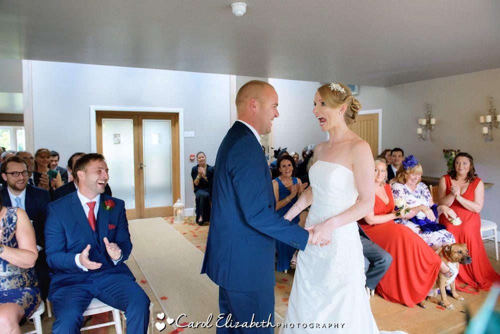 Fun Hyde Barn weddings