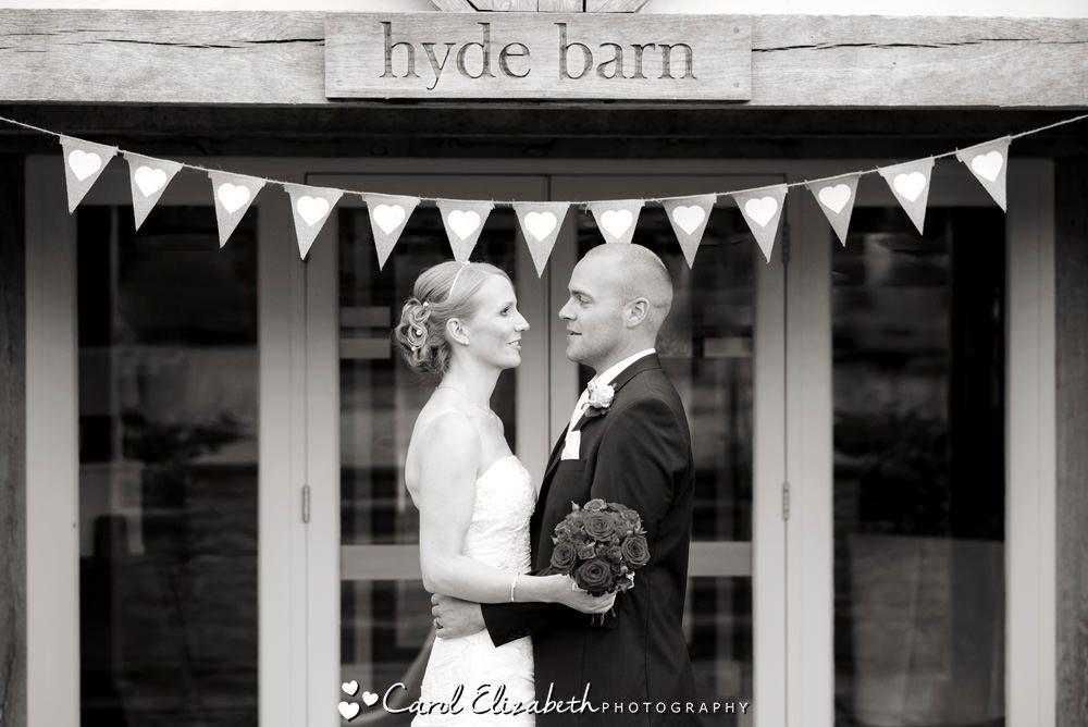 Weddings at Hyde Barn by Carol Elizabeth Photography