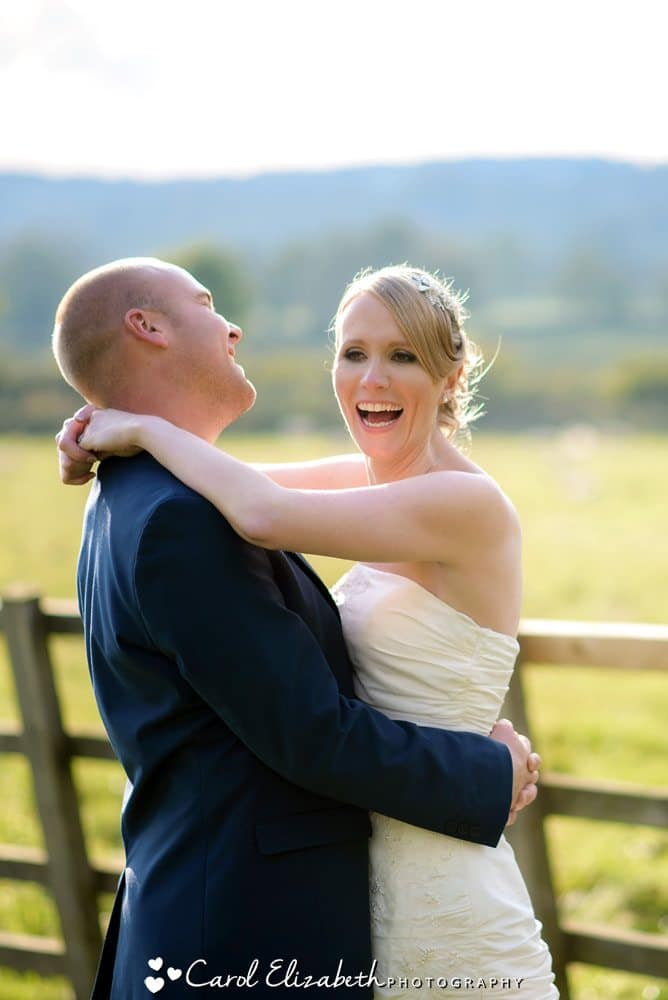 Weddings in the Cotswolds at Hyde Barn