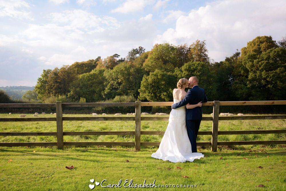 Wedding photography at Hyde Barn in the Cotswolds