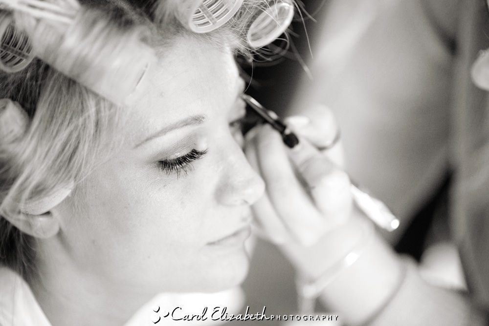Weddings at Milton Hill House Hotel - bridal make-up
