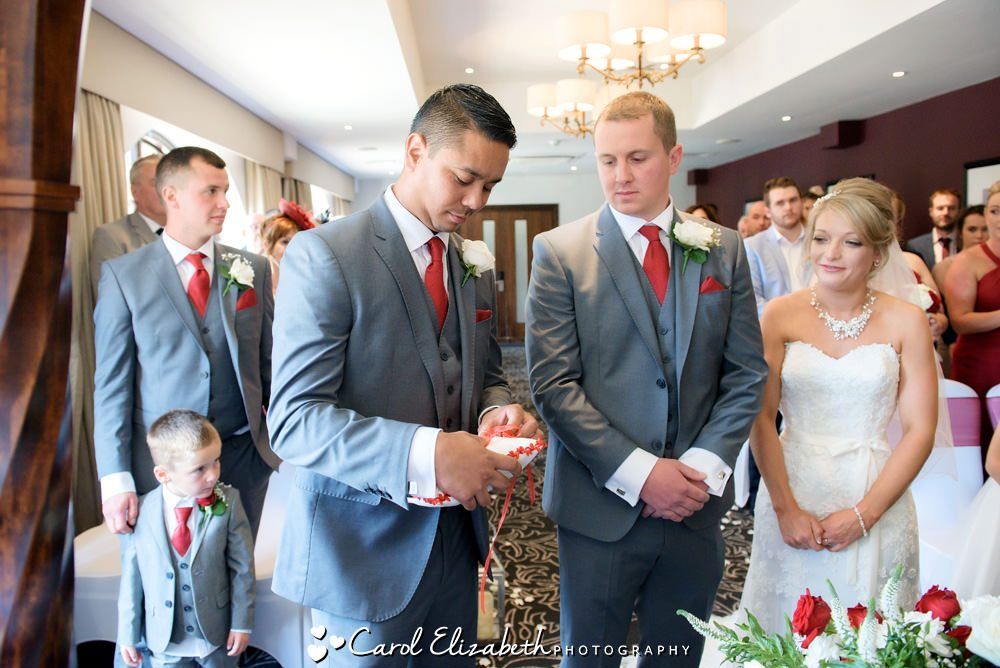 Wedding ceremonies at Milton Hill House Hotel
