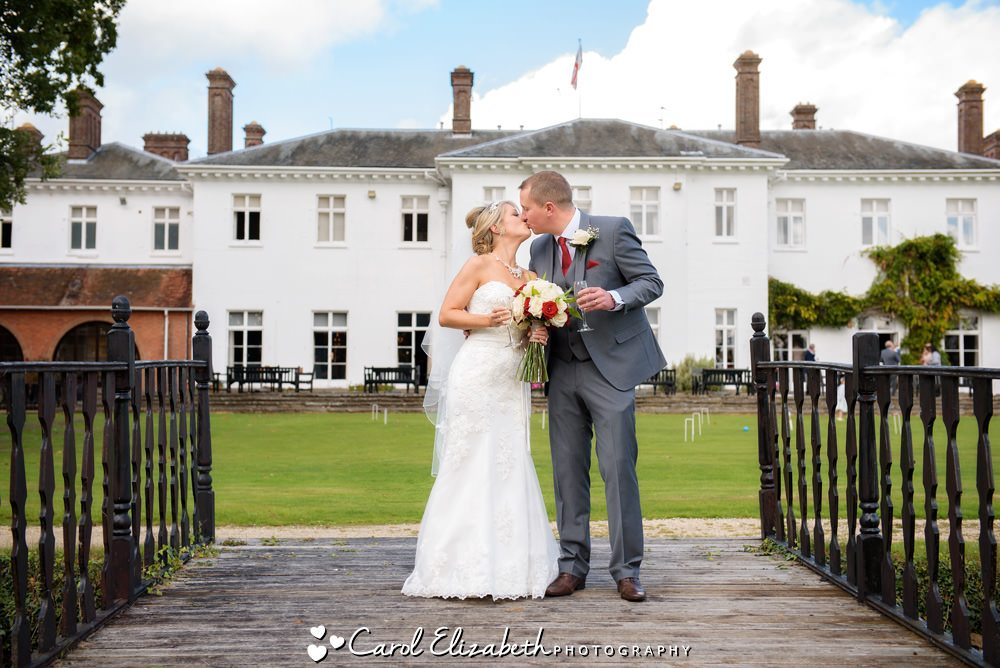 Weddings at Milton Hill House Hotel by Carol Elizabeth Photography