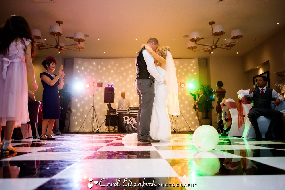 First dance at Milton Hill House wedding