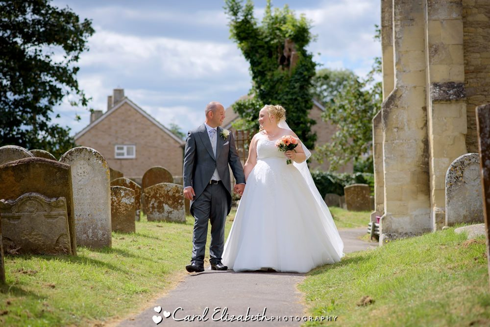 Church wedding photography in Oxfordshire