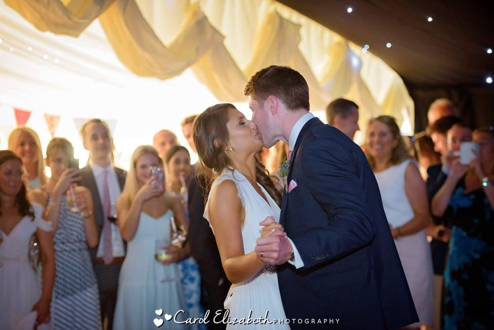 Marquee wedding in Oxfordshire
