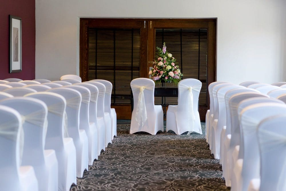 Milton Hill House wedding ceremony