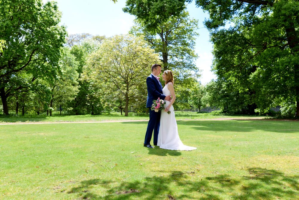 Summer wedding at Milton Hill House Hotel