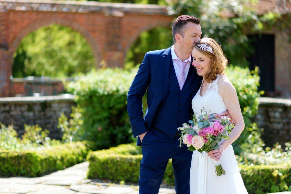 Wedding in Italian Gardens at Milton Hill