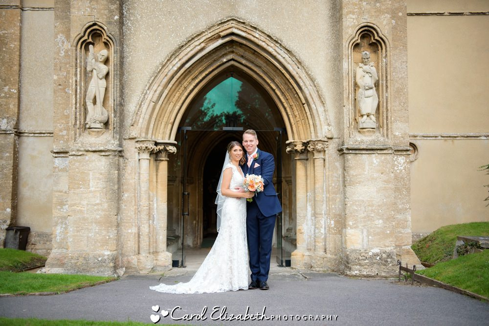 Wedding at St Marys Church Uffington