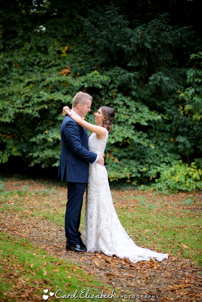 Wedding photography at Lains Barn