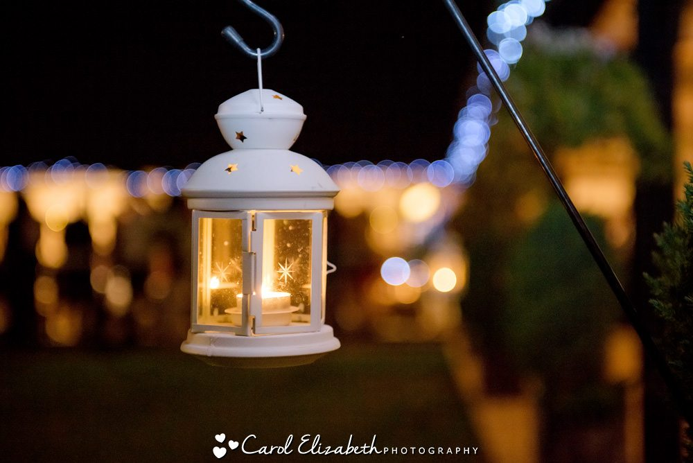 Lantern at night time