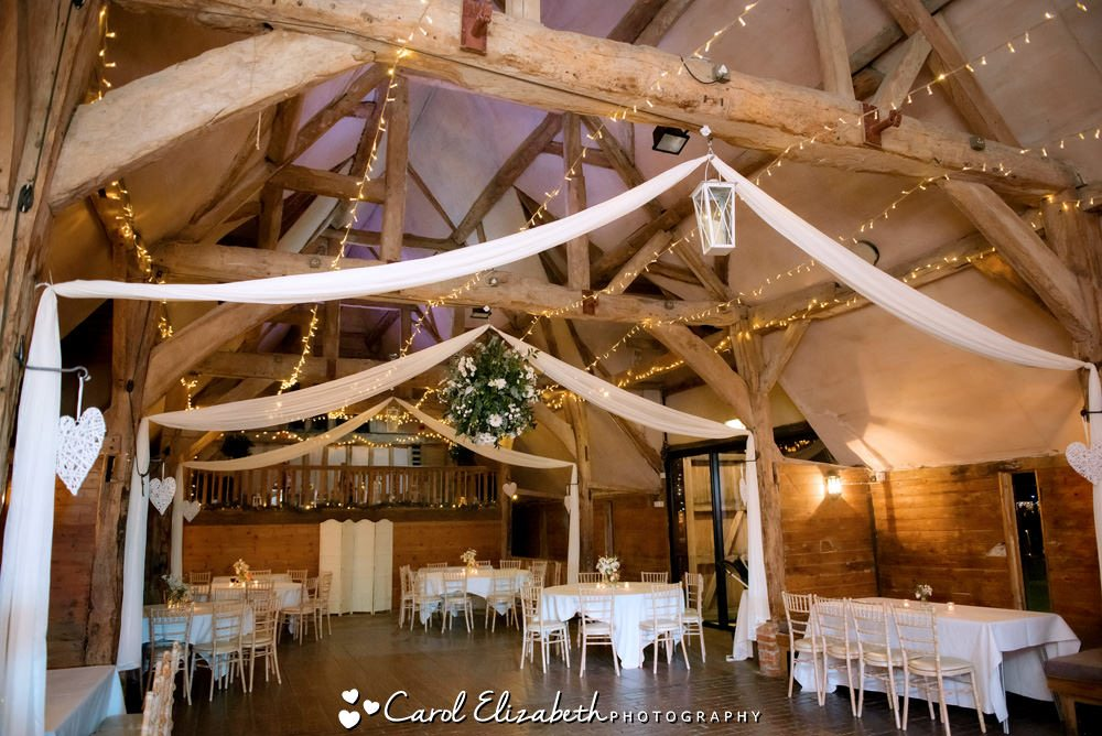 Lains Barn wedding photographer - Lains Barn wedding venue