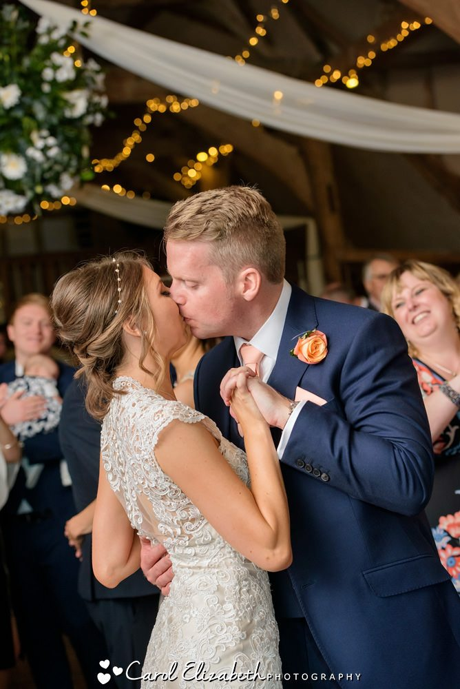 First dance - Lains Barn wedding photographer