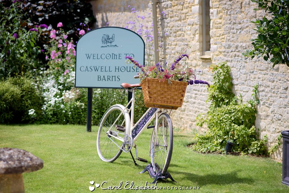 Bicycle at Caswell House Barns