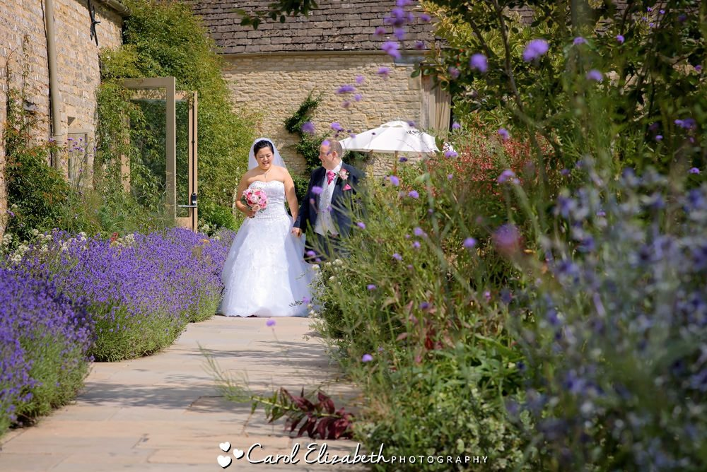 Summer wedding photography at Caswell House
