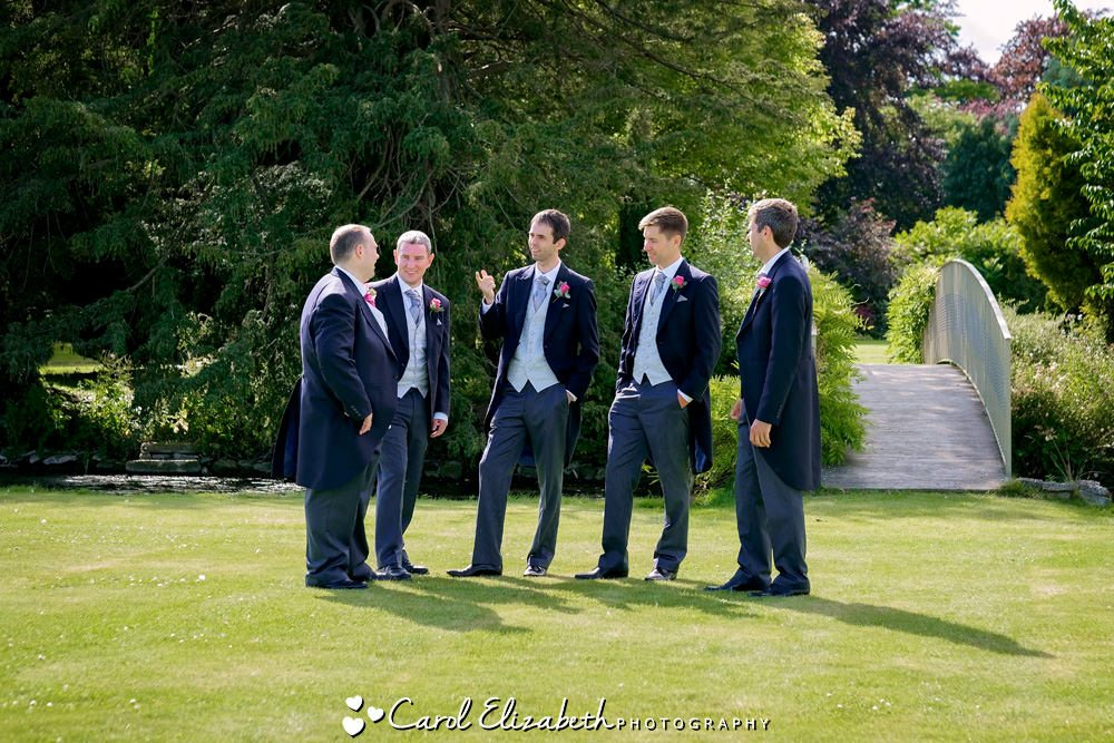 Reportage wedding photo at Caswell House