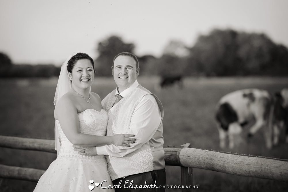Posed wedding photography in Oxfordshire